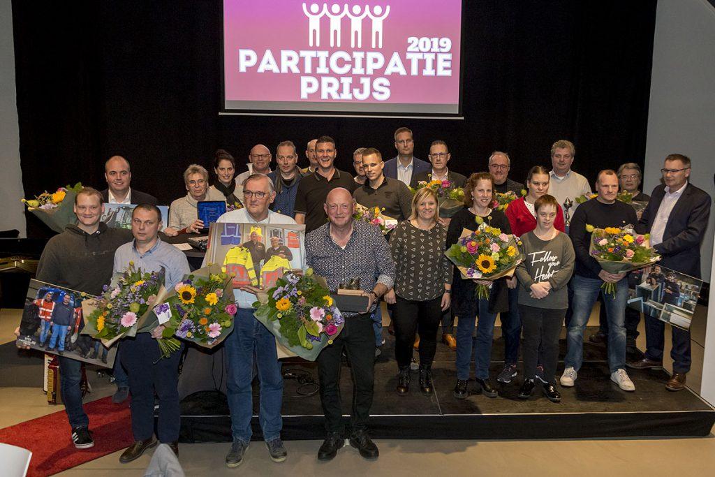 De genomineerden voor de Participatieprijzen 2019.
